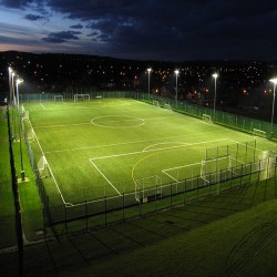 Football Pitch Resurfacing in Aber-banc 1