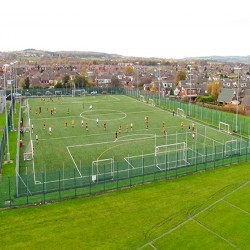 Artificial Football Pitch in Aber Village 1