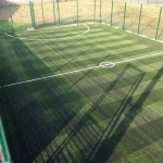 Artificial Football Pitch in Aber Village 8