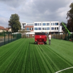Artificial Football Pitch in Aber Village 4