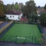 Artificial Football Pitch in Aber Village 7
