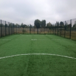 Artificial Football Pitch in Aber Village 6