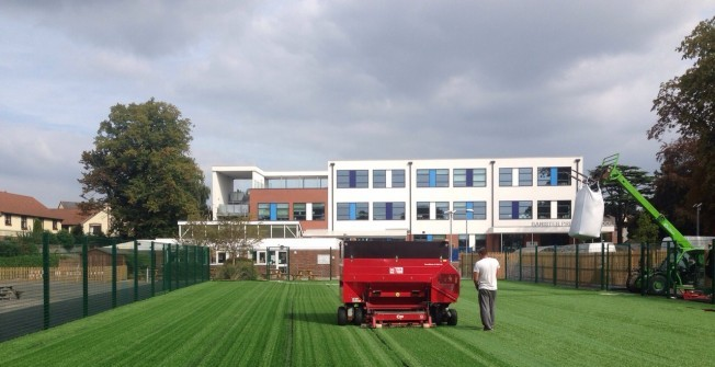 Sport Surfacing Contractors in Aimes Green