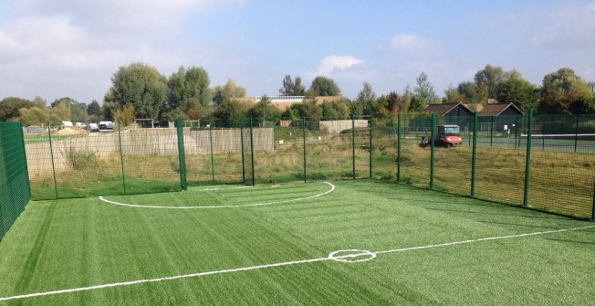 Football Surface Designs in Lower Hordley