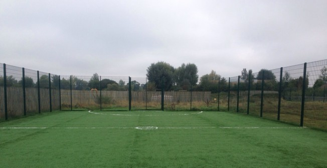 Football Surfacing Company in Ardington Wick
