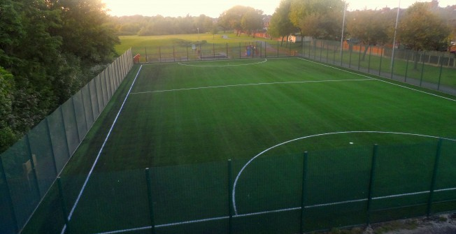 Football Pitch Design in Lower Hordley