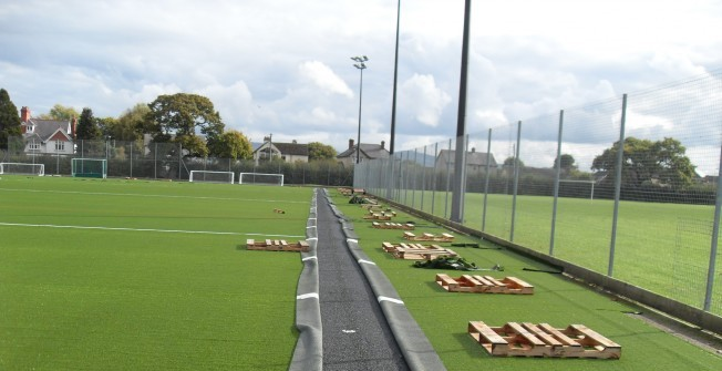 Synthetic Grass Resurface in Ailby
