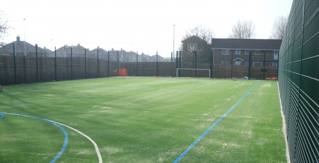 Football Surface Suppliers in Alhampton