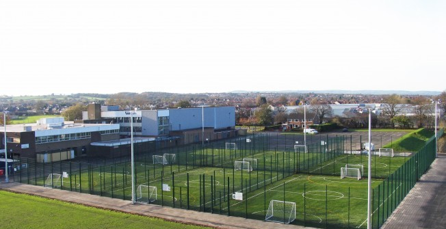 Small Sided Football Pitches in Amberley