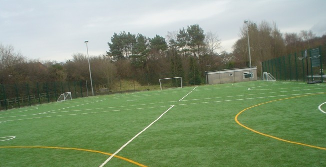 Artificial Football Pitch Cost in Nantyronen Station