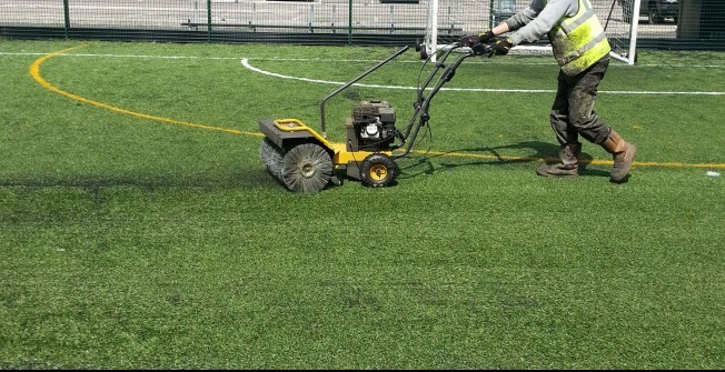 Artificial Football Turf Repairs in Abersoch