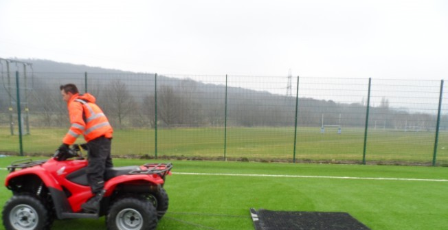 Sports Pitch Specialists in Abbey